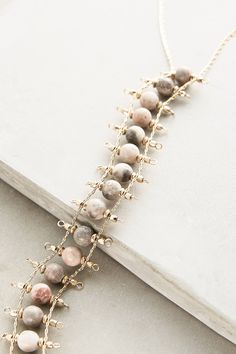 Vinifera Necklace - anthropologie.com