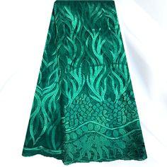 Cheap Nlf26 1 verde última africana del bordado de tela neta del cordón hermoso de la gasa tela africana del cordón para la boda, Compro Calidad Encajes directamente de los surtidores de China: Bienvenido a angela paño moda en líne