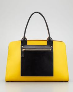 Milly Color Blocked Shopper