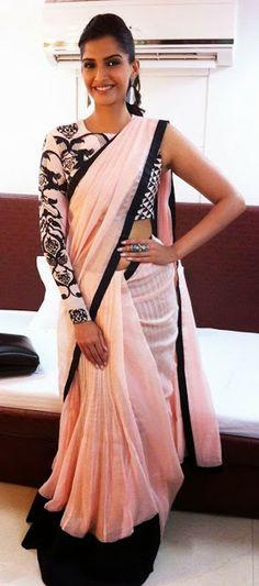 Diva Likes: Sonam Kapoor In Saree