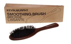 I love my Kevin Murphy brush!  It's boar bristle with a wooden handle!