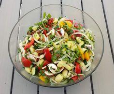 Rezept Italienischer Gemüse Gnocchi Salat von CandyDulfer - Rezept der Kategorie Vorspeisen/Salate