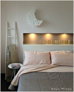 Built-in over the bed Home Staging, Bed Pillows, Master Bedroom, Sweet Home, Shabby Chic, New Homes, Room Decor, House Design, Interior Design