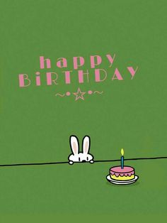 Happy Birthday She Happy Birthday Bunny, Happy Birthday Vintage, Birthday Wishes Funny, Happy Birthday Messages, Happy Birthday Images, Birthday Quotes, Birthday Greetings, Humor Birthday, Happy Biryhday