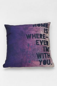 Leah Flores For DENY With You Pillow?.. Edward Sharpe and the Magnetic Zeros lyrics... Love it!