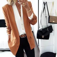 ouleurs d'automne 🍂🍁 #outfit #ootd #tenuedujour #mode #fashion #fashionstyle #casual #automne #veste #blouse #oldcozar