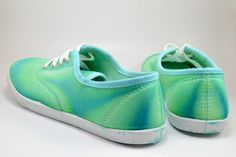 Neat Dyed Sneakers - Turning Around a Craft FAIL! - Dream a Little Bigger