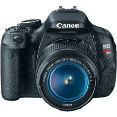 I said I want it (Canon EOS Rebel T3i) Now it is on it's way. He spoils me, over and over again.