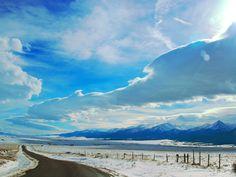 Wet Mountain Valley, Colorado, America..where road meets the sky