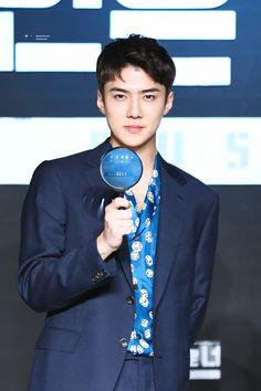 180430 #EXO #SEHUN at Busted! Press Conference