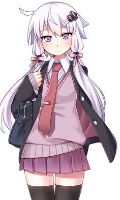 Vocaloid - Yuzuki Yukari art by Ryuusei (Ryuuseiseikou) (Sankaku Channel)