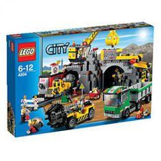LEGO City   LEGO® City 4204 Bergwerk bei Karstadt für 69,99 Euro