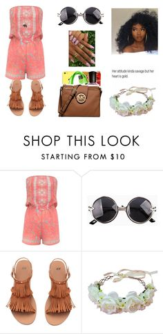 """Untitled #943"" by qveenkyndall16 ❤ liked on Polyvore featuring Lipsy and Forever 21"