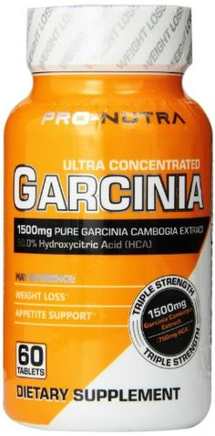PRONUTRA Ultra Concentrated Garcinia 60Count ** Check out this great product.Note:It is affiliate link to Amazon.