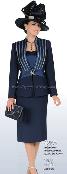 Church Suits by Champagne For Spring 2014 - www.ExpressURWay.com - Church Suits, Champagne, Womens Suits, Suits for Women, Church Suits for Women, Spring 2014