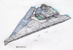Spaceship Art, Spaceship Design, Spaceship Concept, Concept Ships, Star Wars Sith, Star Wars Rpg, Star Wars Fan Art, Battlefleet Gothic, Robot Cartoon
