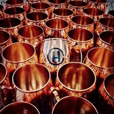 Beautiful Copper Moscow Mule Mugs Lbklondon Drum