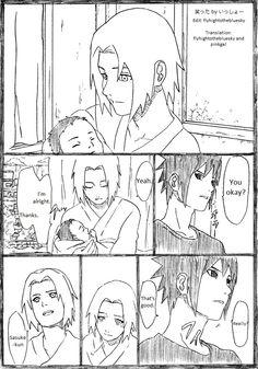 SasuSaku family doujinshi page 1