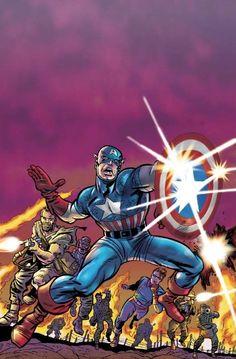 Capitão America e o Comando Selvage