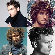 50 Curly / Wavy Hairstyles & Haircut Ideas For Men - http://www.dmarge.com/2014/07/50-curly-wavy-hairstyles-haircuts-men.html