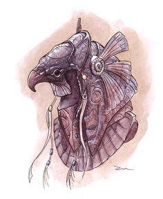 Stargate Horus Helmet by Mathieu-Larno