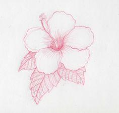 Cómo dibujar flores hawaianas                              …                                                                                                                                                                                 Más