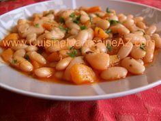Haricots blancs aux carottes الفاصوليا البيضاء بالجزر