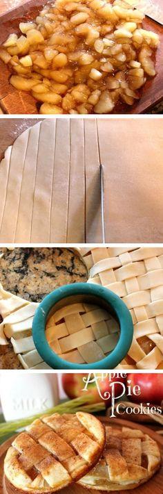 Easy Apple Pie Cookies