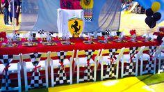 Ferrari birthday party