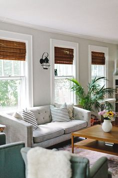 A Quaint And Character Filled New Jersey Home. Window TrimsWindow  BlindsWindow CoveringsWindow TreatmentsLiving Room ...