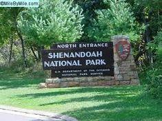 Shenandoah National Park, camping:)