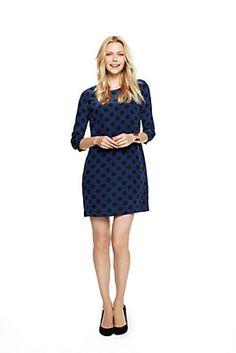 Oversized Polka Dots Silk Shift Dress