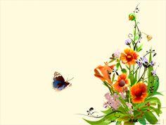 Paisajes De Flores | Fondo de Pantalla Flores Minimalistas