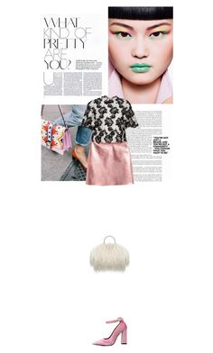 """Fashion is art"" by janchy1 ❤ liked on Polyvore featuring Monique Lhuillier and Odette"