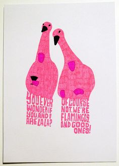Boston Legal FLAMINGOS!!