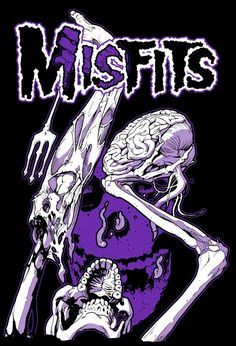Misfits Arte Punk, Punk Art, Metal Band Logos, Metal Bands, David Carson Design, Misfits Band, Danzig Misfits, Goth Bands, Punk Poster