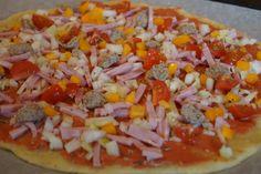 ruk fingre til å trykke den ut til den blir passe tykk. Ca mm kanskje? Lchf, Keto, Hawaiian Pizza, Tapas, Food And Drink
