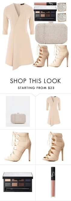 """""""Pretty Box Clutch"""" by dreaming-wonderland ❤ liked on Polyvore featuring ALDO, Jane Norman, Charlotte Russe, NARS Cosmetics and Kate Spade"""