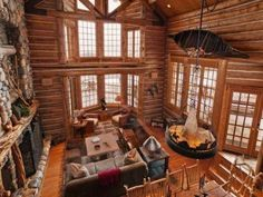Mitt Romney's new Utah home is an ultra-luxe log cabin | Spaces - Yahoo Homes.....love, love, love this!!