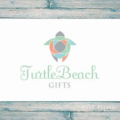 Turtle Logo Custom Logo  Soap Logo Business Logo by TLCPaperie