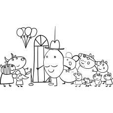 Top 35 Free Printable Peppa Pig Coloring Pages Online Peppa Pig Coloring Pages Coloring Pages Peppa Pig