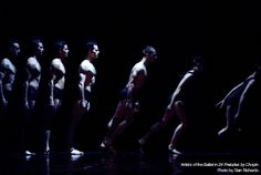 Artists of the Ballet in 24 Preludes by Chopin. Photo by Sian Richards.
