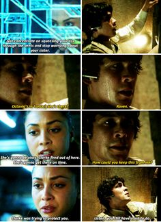 The 100- poor Bellamy! I couldn't believe Clarke hid that from him :(