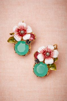 Kilauea Earrings in Shoes & Accessories Jewelry at BHLDN