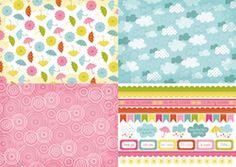 Come rain or shine papers   cardmakingandpapercraft.com