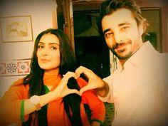 Ayeza khan with hamza ali abbasi Ayeza Khan, Indian Movies, Cheaters, Famous People, Bollywood, Told You So, Actors, Couples, Celebrities
