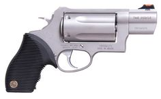 Taurus Judge! Shots a .45 cal and a 410 shotgun shell! The ultimate in home defense or camping.
