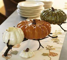 Gourd Serve Bowls | Pottery Barn