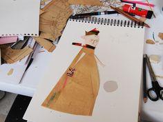 Some more work by blanca helga, via Flickr