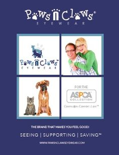 A great ASPCA Collection from Paws N Clays Eyewear! #ASPCASponsors